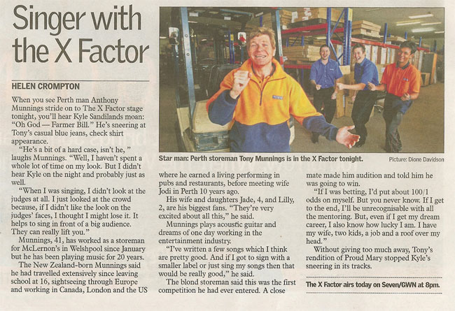 mclernons warehouse in the west australian newspaper