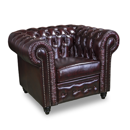 Arm Chairs : Antique Chesterfield Single Armchair Perth ...