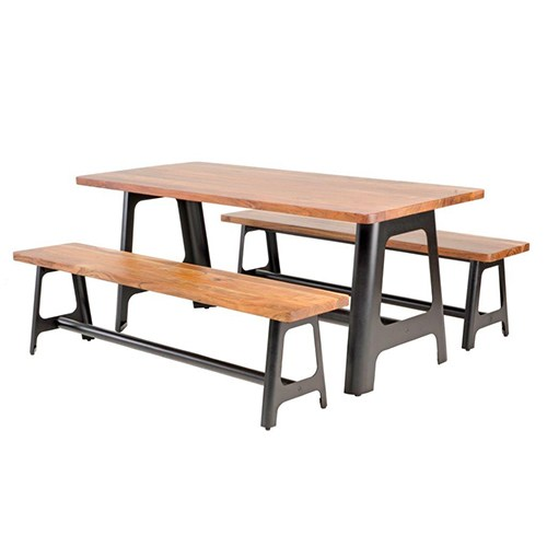 Craftsman-Table-&-Bench-Setting