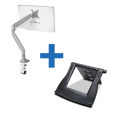 KENSINGTON-SMARTFIT-ONE-TOUCH-ADJUST-SINGLE-MONITOR-ARM