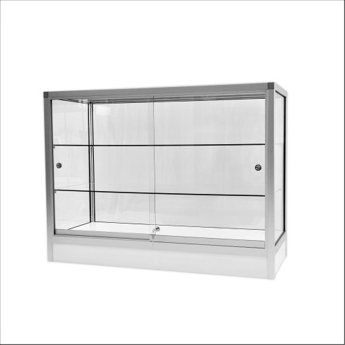new glass display cabinet